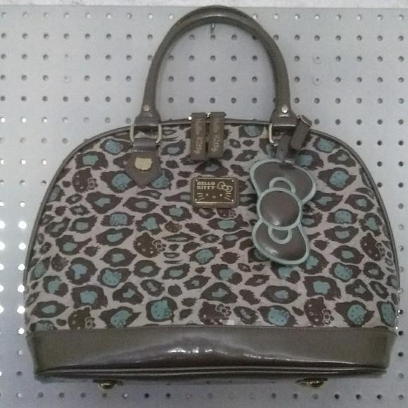 2c7b74a01db Loungefly Bags   Hello Kitty Mint Leopard Print Handbag Rare   Poshmark